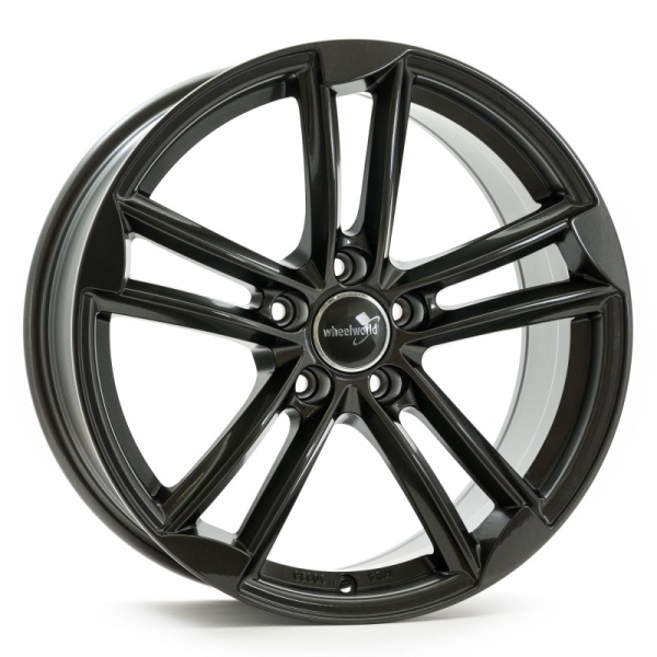 Wheelworld WH27 Dark Gunmetal lackiert 18""