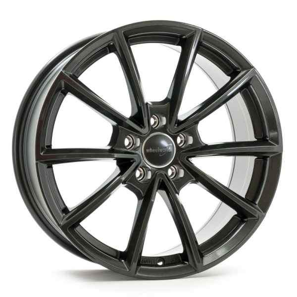 Wheelworld WH28 Dark Gunmetal lackiert 18""
