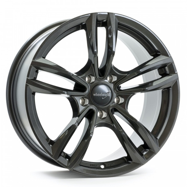 Wheelworld WH29 Dark Gunmetal lackiert 17""