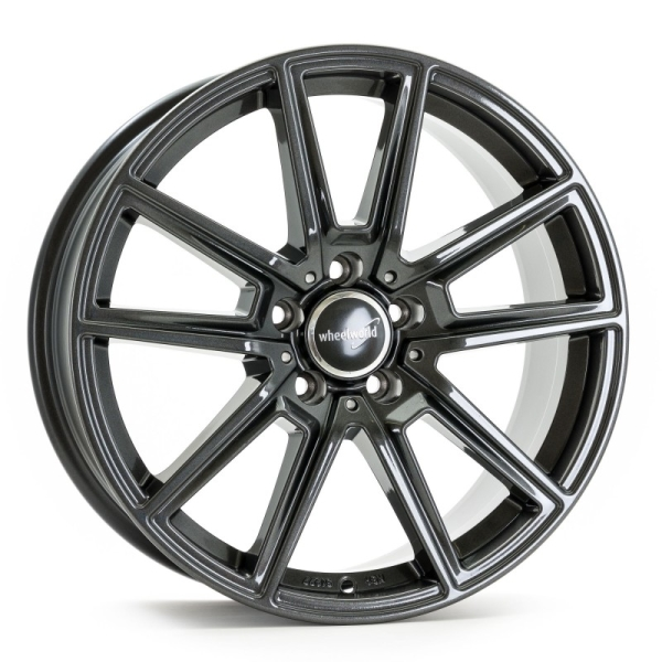 Wheelworld WH30 Dark Gunmetal lackiert 18""