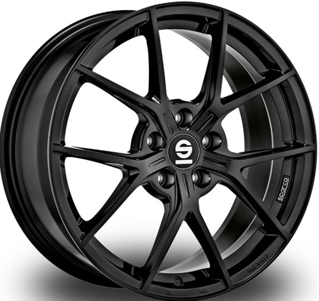 Sparco Podio GLOSS BLACK 17""