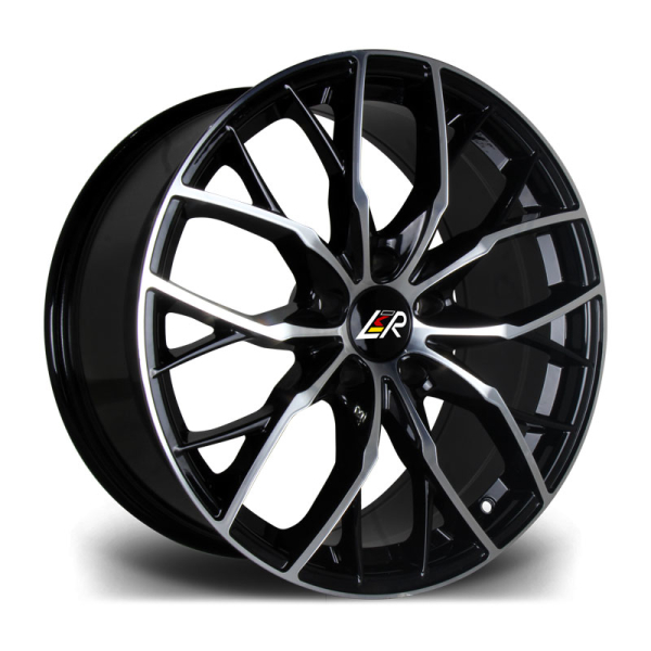 LMR PENTA BLACK POLISHED 18""